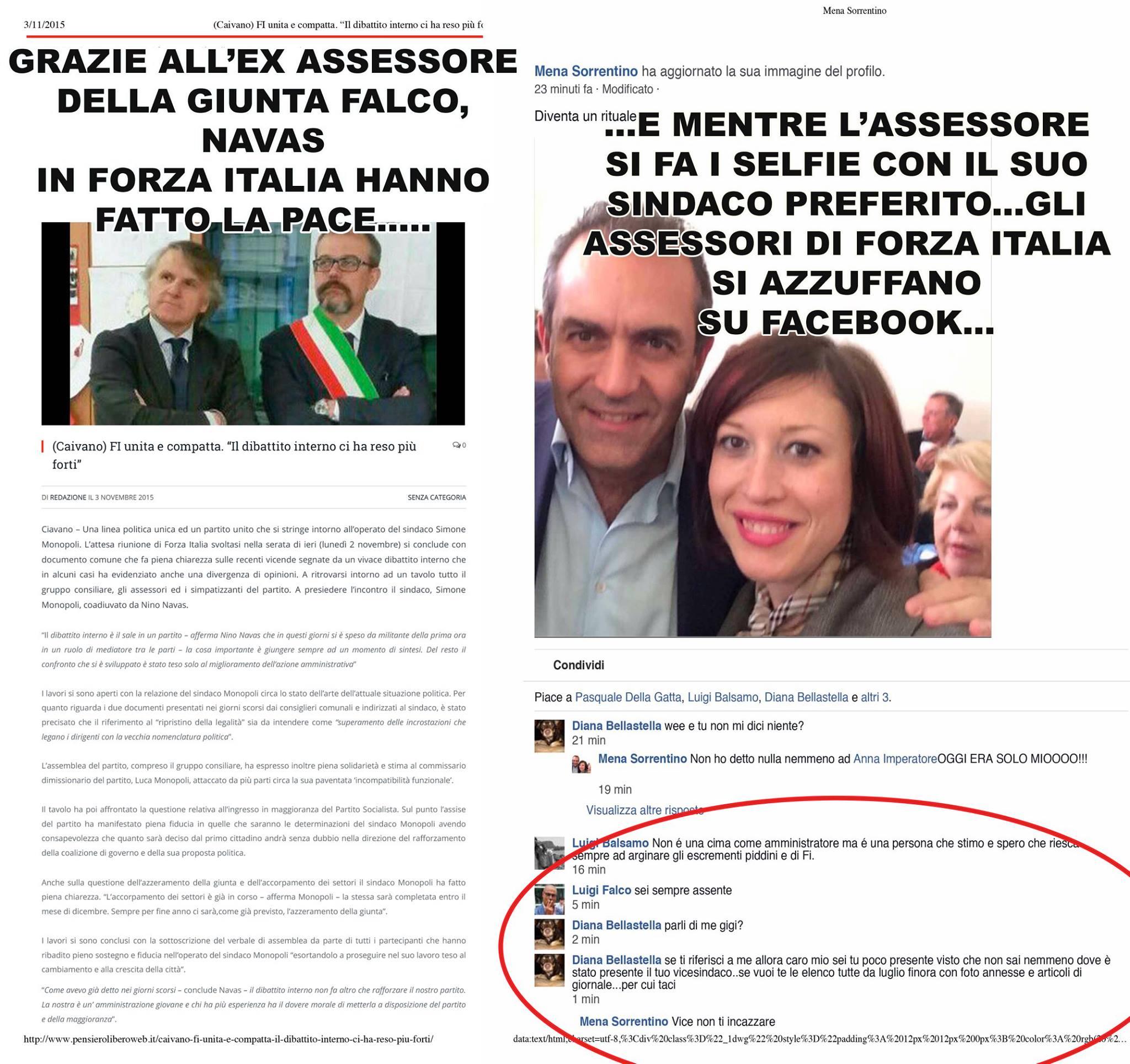 Forza italia bellastella e falco assessori in scadenza for Deputati di forza italia