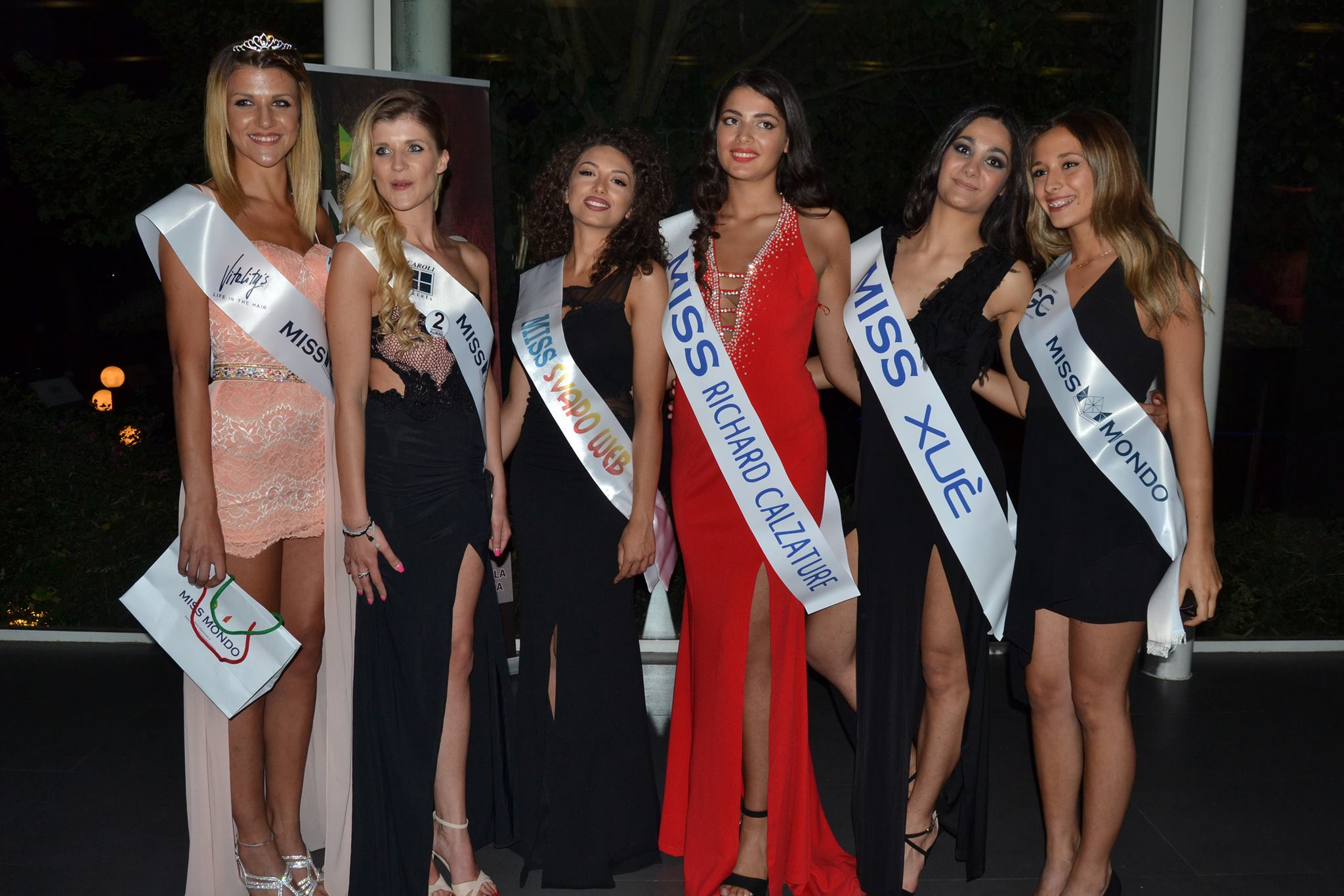 LE 6 FINALISTE di Miss Mondo Campania