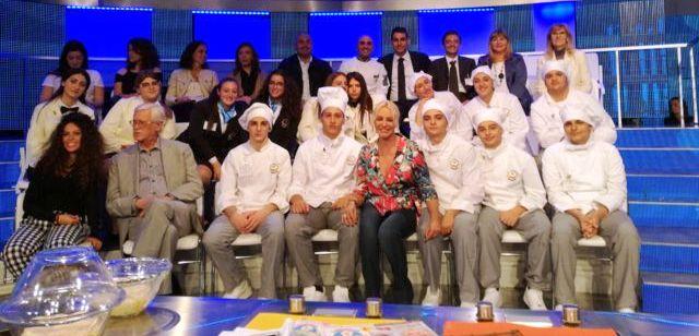 I ragazzi dell'istituto Morano alla 'Prova del Cuoco'