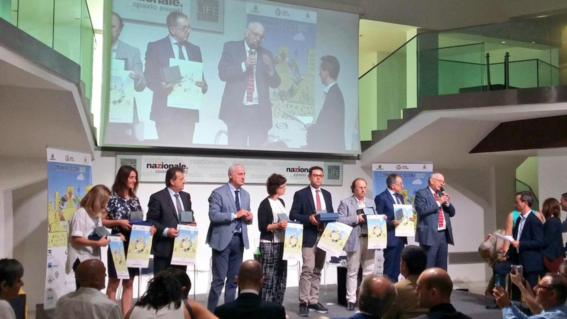 premiazione Comuni-Ricicloni-2017