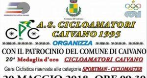 20esima Medaglia d'oro Cicloamatori