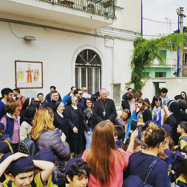 Campiglione, la Messa celebrata dal Vescovo Angelo Spinillo