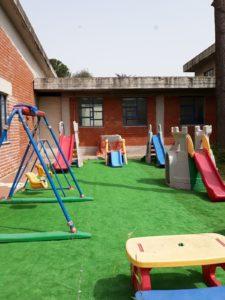 Creato un nuovo parco giochi alla Milani grazie al lavoro di Carmine Peluso