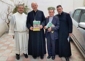 Rettore Pagliara, Vescovo Spinillo, Don Peppino Esposito