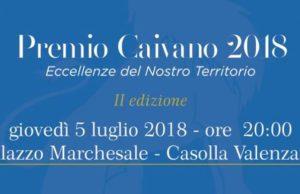 Premio Caivano, tutto pronto per seconda edizione: il 5 luglio al Palazzo Marchesale