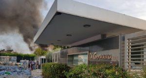 Incendio Di Gennaro Spa, nuovi aggiornamenti