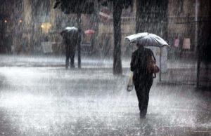Allerta giallo per la Campania, piogge e temporali per sabato
