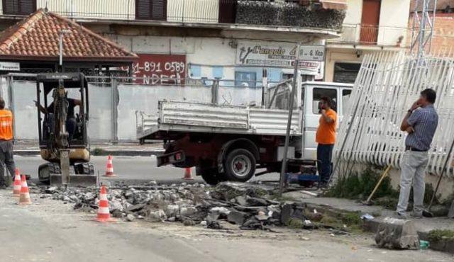 riparazione Corso Umberto I