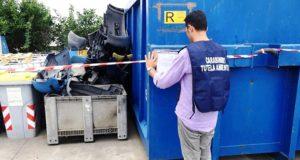 sequestro area rifiuti