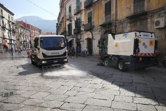 spazzatrice a Gragnano