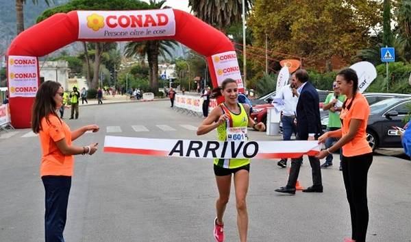 Palermo International Half Marathon Silvia La Barbera