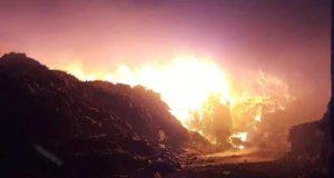 incendio stir Santa Maria CAPUA VETERE