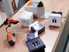 materiale elettrico rubato