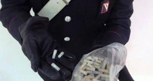 cellophane contenete 51 dosi di eroina