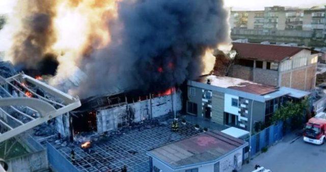 incendio Cerbone alluminio