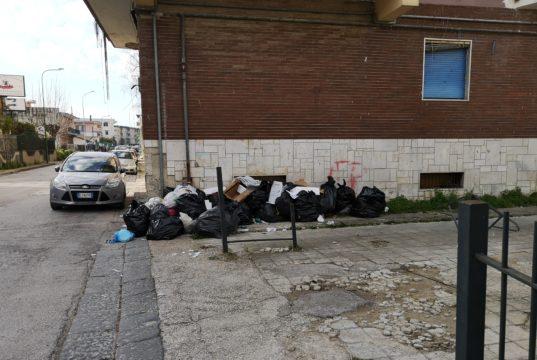 Rifiuti abbandonati, l'uso dei sacchetti neri è vietato